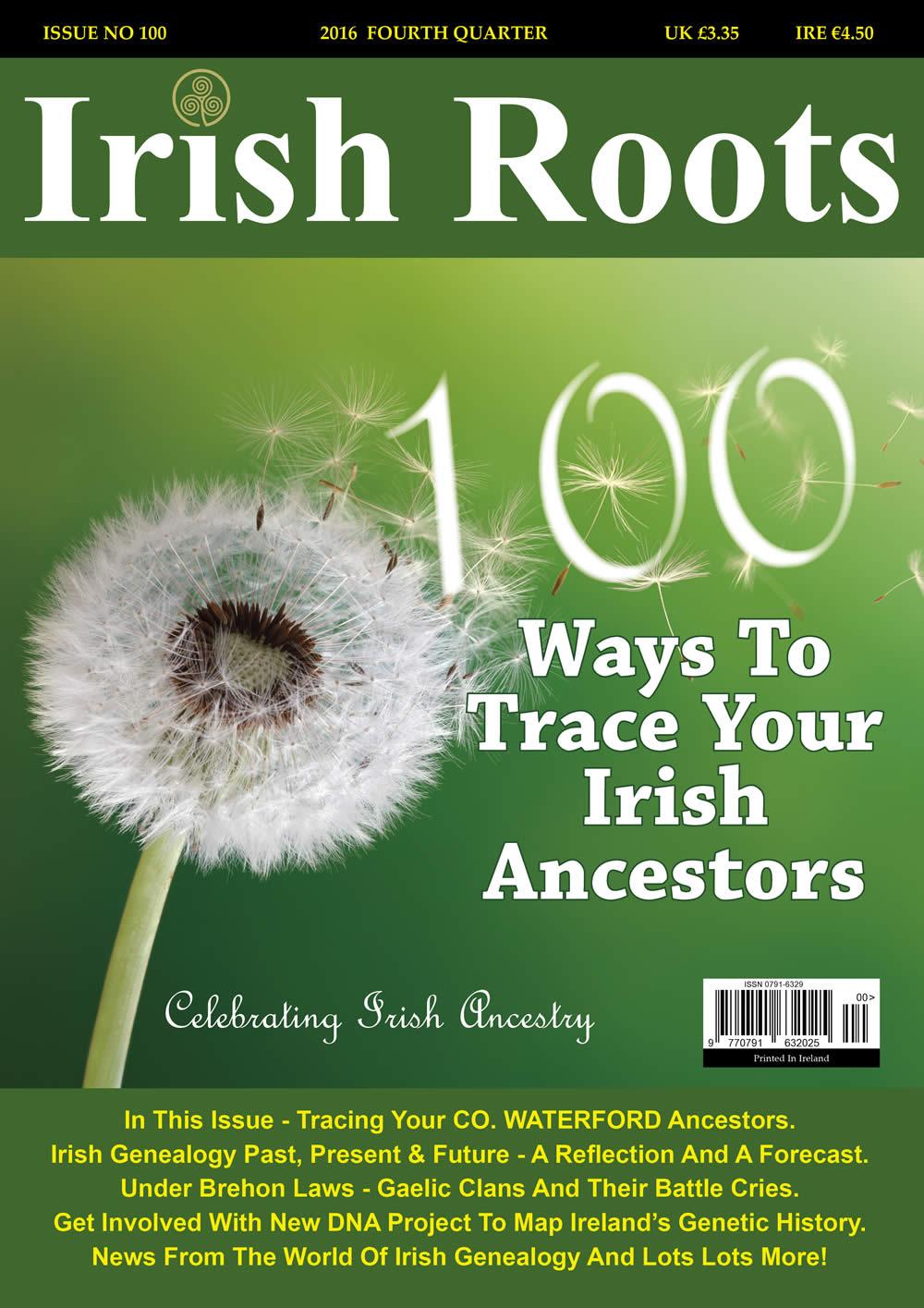 IRISH ROOTS Magazine Home